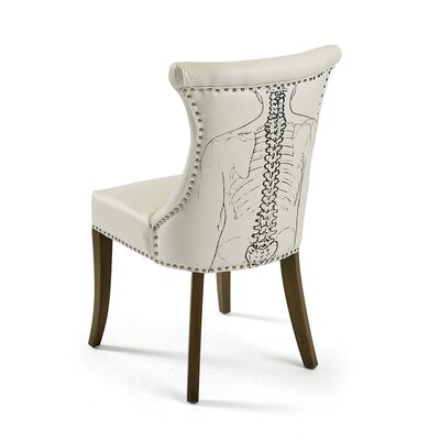 Hip Vintage Backbone Side Chair