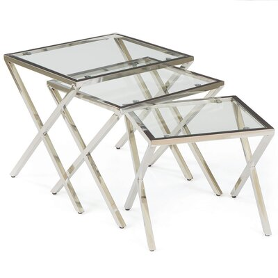 Hip Vintage St. James 3 Piece Nesting Tables