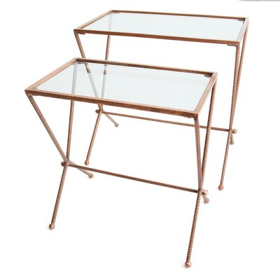 Hip Vintage Trevoli 2 Piece Nesting Tables