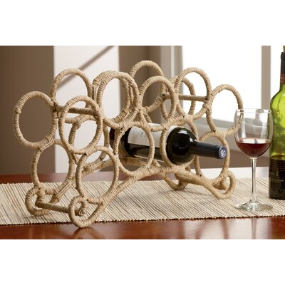 Kindwer 9 Bottle Tabletop Wine Rack