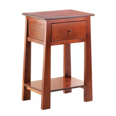 Zingz & Thingz Contemporary Craftsman End Table
