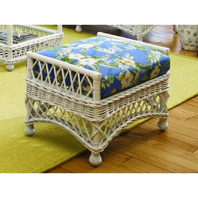 Spice Islands Wicker Bar Harbor Ottoman Image
