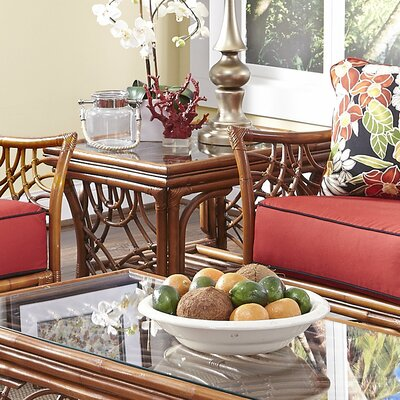 Spice Islands Wicker Bali End Table