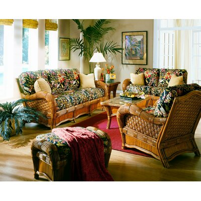 Spice Islands Wicker Kingston Reef 6 Piece Livin..