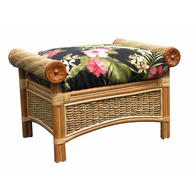 Spice Islands Wicker Maui Twist Ottoman