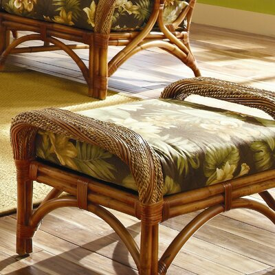 Spice Islands Wicker Caneel Bay Ottoman