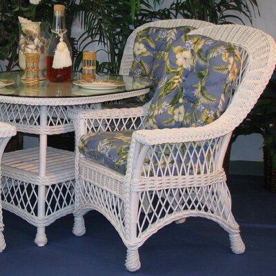 Spice Islands Wicker Bar Harbor Arm Chair