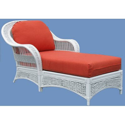 Spice Islands Wicker Regatta Chaise Lounge