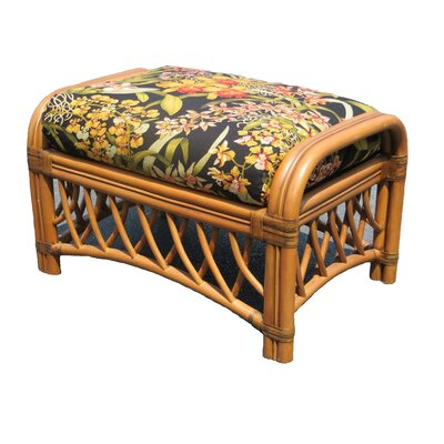 Spice Islands Wicker Montego Bay Ottoman Image