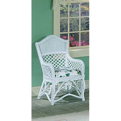 Yesteryear Wicker Gazebo Arm Chair