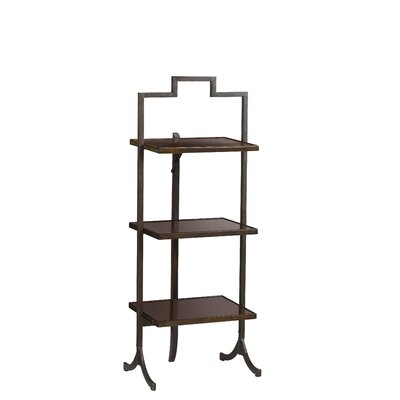 French Heritage Small Rectangular Folding End Table Image