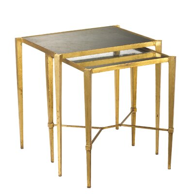 French Heritage French Accents 2 Piece Nesting Tables