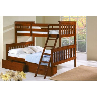 Donco Kids Twin over Full Standard Bunk Bed with..