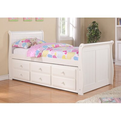Donco Kids Donco Kids Sleigh Bed with Tru..