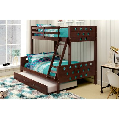 Donco Kids Twin over Full Bunk Bed with Trundle