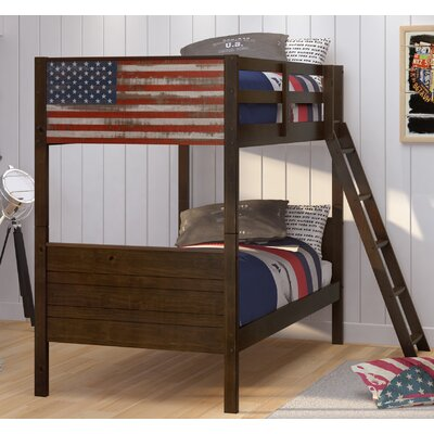 Donco Kids Patriot Twin Over Twin Bunk Bed