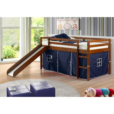 Donco Kids Tent Twin Slat Bed