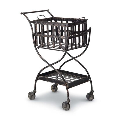 Foreside Home & Garden Serving Cart