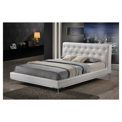 Wholesale Interiors Baxton Studio Upholstered Panel Bed
