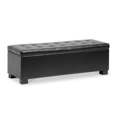 Wholesale Interiors Baxton Studio Roanoke Ottoman