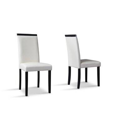 Wholesale Interiors Baxton Studio Milano Side Chair (Set of 2)