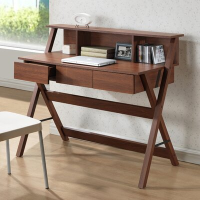 Wholesale Interiors Baxton Studio Crossroads Writing Desk