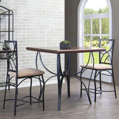 Wholesale Interiors Baxton Studio 3 Piece Pub Table Set
