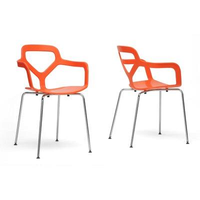 Wholesale Interiors Baxton Studio Miami Arm Chair (Set of 2)