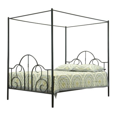 Wholesale Interiors Baxton Studio Queen Canopy Bed