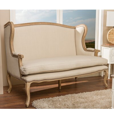 Wholesale Interiors Baxton Studio Loveseat