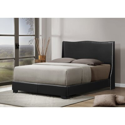Wholesale Interiors Baxton Studio Queen Upholstered Platform Bed