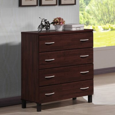 Wholesale Interiors Baxton Studio 4 Drawer Chest