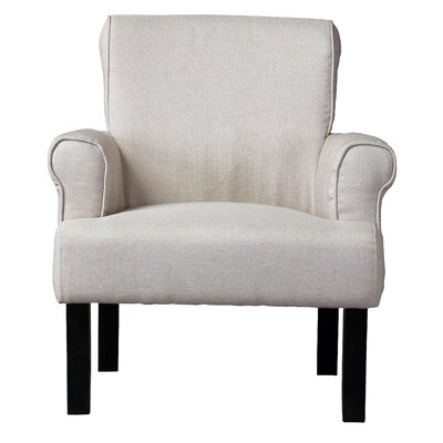 Wholesale Interiors Baxton Studio Classics Wing Arm Chair