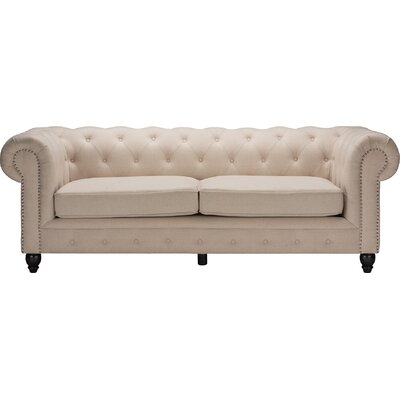 Wholesale Interiors Baxton Studio Cassandra Rolled Arm Sofa