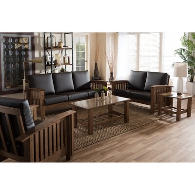 Wholesale Interiors Baxton Studio 5 Piece Living Room Set