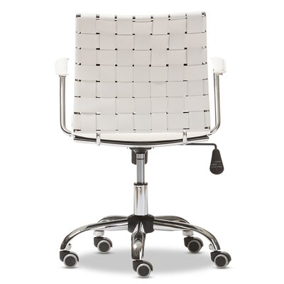 Wholesale Interiors Baxton Studio Vittoria Leather Modern Conference Chair