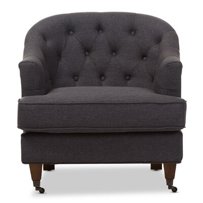 Wholesale Interiors Baxton Studio Marta Upholstered Club Chair