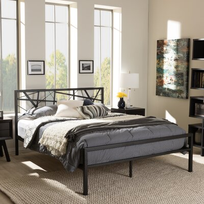 Wholesale Interiors Baxton Studio Full/Double Platform Bed
