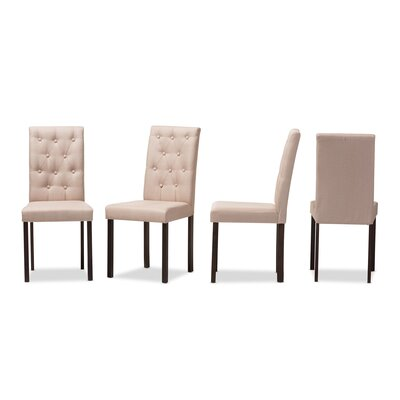 Wholesale Interiors Baxton Studio Andrew Side Chair (Set of 4)