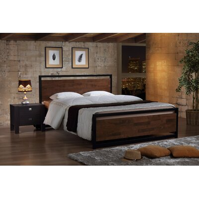 Wholesale Interiors Baxton Studio Gabby Industrial Platform Bed