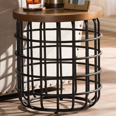 Wholesale Interiors Baxton Studio Carie End Table