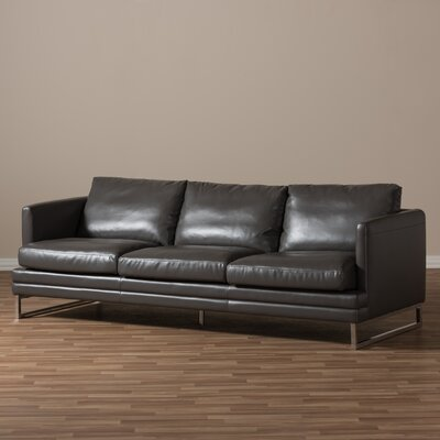 Wholesale Interiors Baxton Studio Dakota Leather Sofa