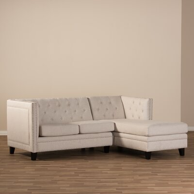 Wholesale Interiors Baxton Studio Parkis Sectional