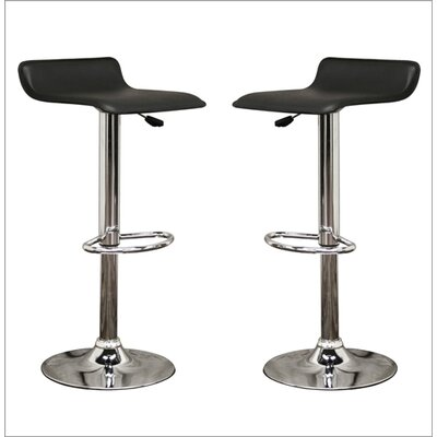 Wholesale Interiors Baxton Studio Adjustable Height Swivel Bar Stool (Set of 2)