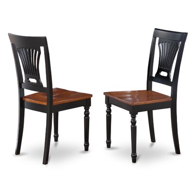 East West Furniture Plainville Side Chair (Set o..