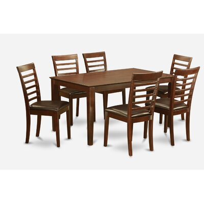 Charlton Home Smyrna 7 Piece Dining Set