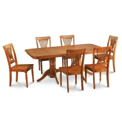 East West Furniture Napoleon 7 Piece Dining ..