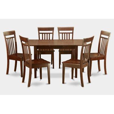 East West Furniture Norfolk 7 Piece Dining Set
