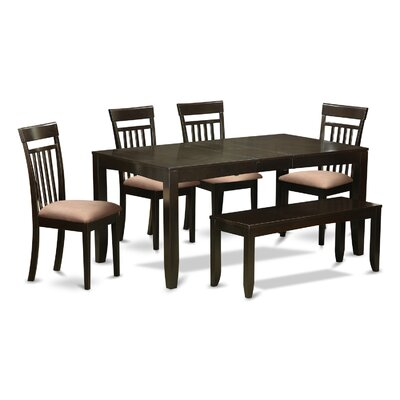East West Furniture Lynfield 6 Piece Dining ..