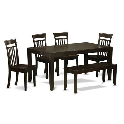 East West Furniture Lynfield 6 Piece Dining Set